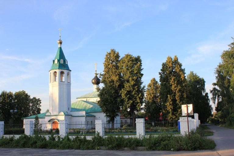 Церковь архистратига Божиего Михаила