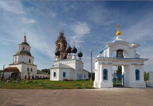 Церкви села Николо-Погост