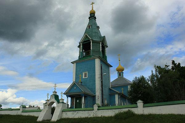 Церковь Преображения Господня с.Подолец